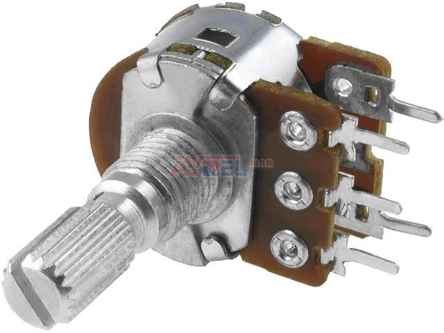 Logitech Z523 - zly potenciometer