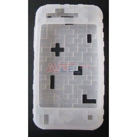 GSM Puzdro iPhone 3G - Silikónové - biele ... 55b6b4e3c40