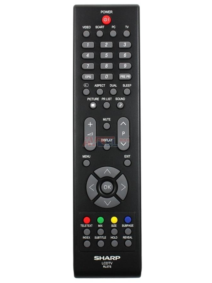Sharp LCD TV Remote Control For LC42SB55RU LC42SB55S LC32SH25E