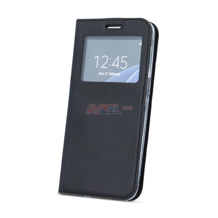 GSM Puzdro Smart Look Huawei P9 Lite 2017 - čierne ... a8b7b6d8aa5