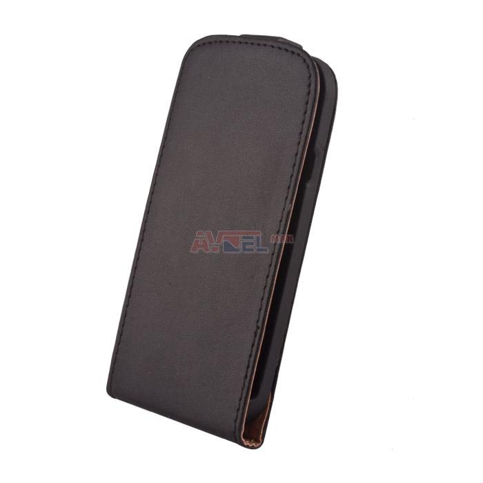 GSM Puzdro Sligo Elegance iPhone 5 - čierne ... a0c59bbea5f