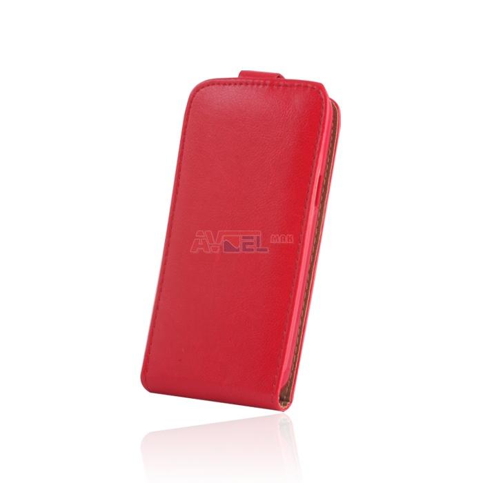 GSM Puzdro Sligo Plus New Sony Xperia M4 - červené ... 3ddb66f6389